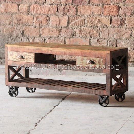 roulettes mobilier vintage recyclage
