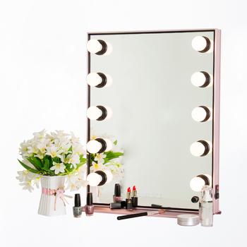 en gros pas cher vanite hollywood led miroir de maquillage equipement de salon de coiffure miroir
