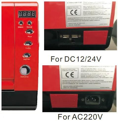 portable dc 24v 12v 7l microwave oven for car boat caravan digital timer control buy dc 24v microwave oven microwave oven 7l commercial microwave