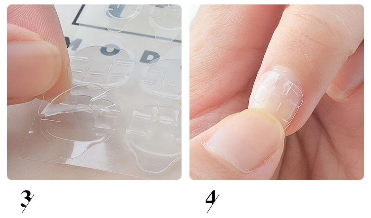 Double Sides Nail Glue Sticker