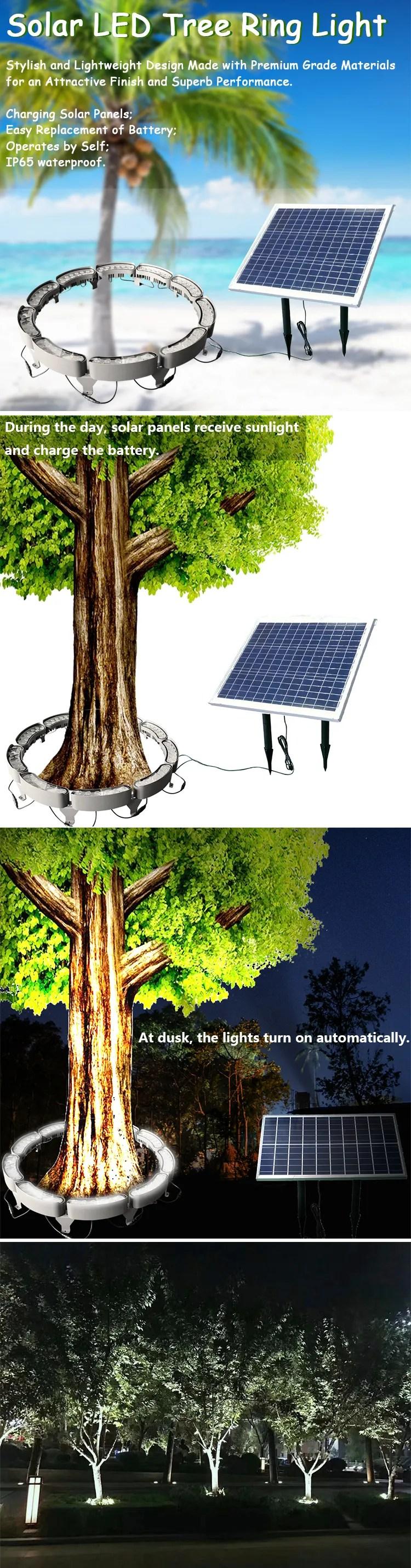 new design high efficiency landscape lamp spotlight for palm tree solar led tree ring light buy solar courtyard lamp outdoor led tree light solar