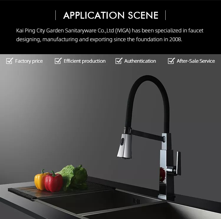 2 way single hole single handle kitchen sink faucets black kitchen tap with pullout spout buy single handle kitchen faucets 2 way faucet black