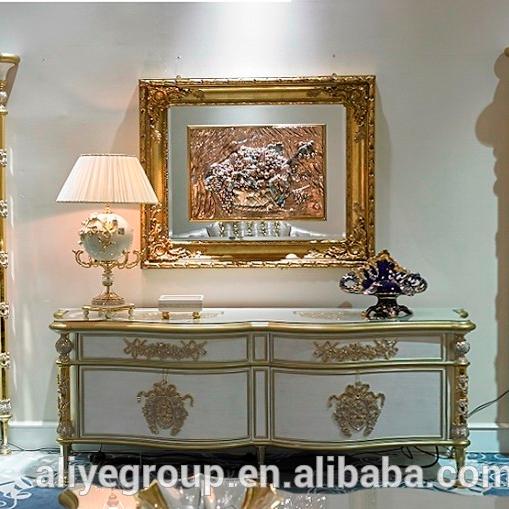 support tv plaque or luxueux de style italien baroque meubles modernes pour la maison art deco v1327 buy meuble de television et vitrine en plaque