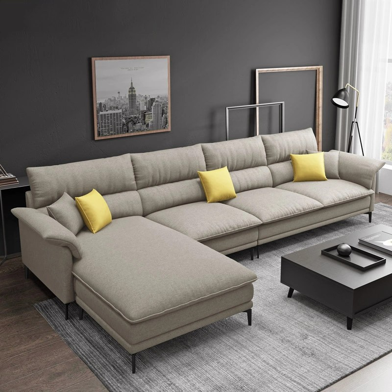 hot sale l shape sofa for living room foshan home furniture sofa set buy l shape sofa living room couches lounge home furniture leather sofa fabric