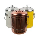 Durable Usage Stainless Steel Kitchen Compost Bin Metal Compost Bucket Counter Compost Bin Buy Compost Bucket Compost Bin Kitchen Compost Bin Product On Alibaba Com