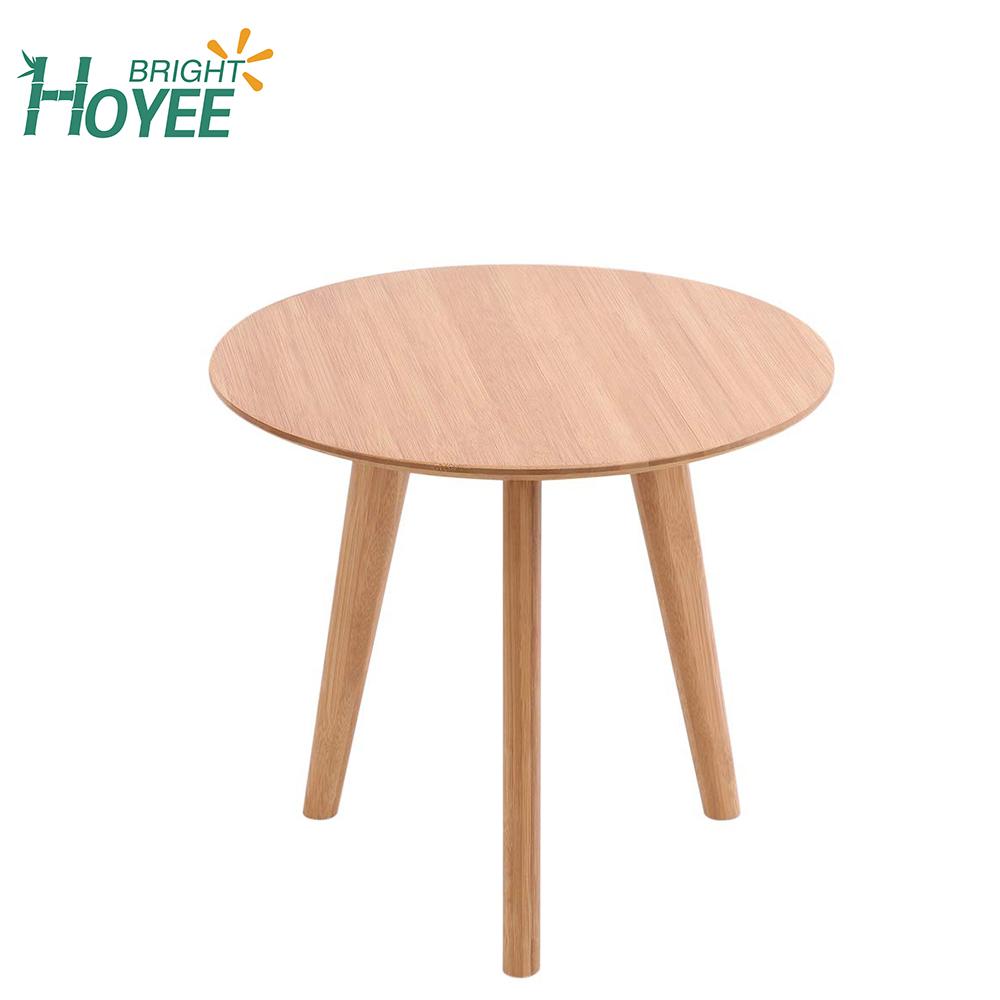 table basse ecologique en bambou 3 pieds pour petit espace 1 piece buy table basse en bambou table a collation en bambou table d extremite en bambou
