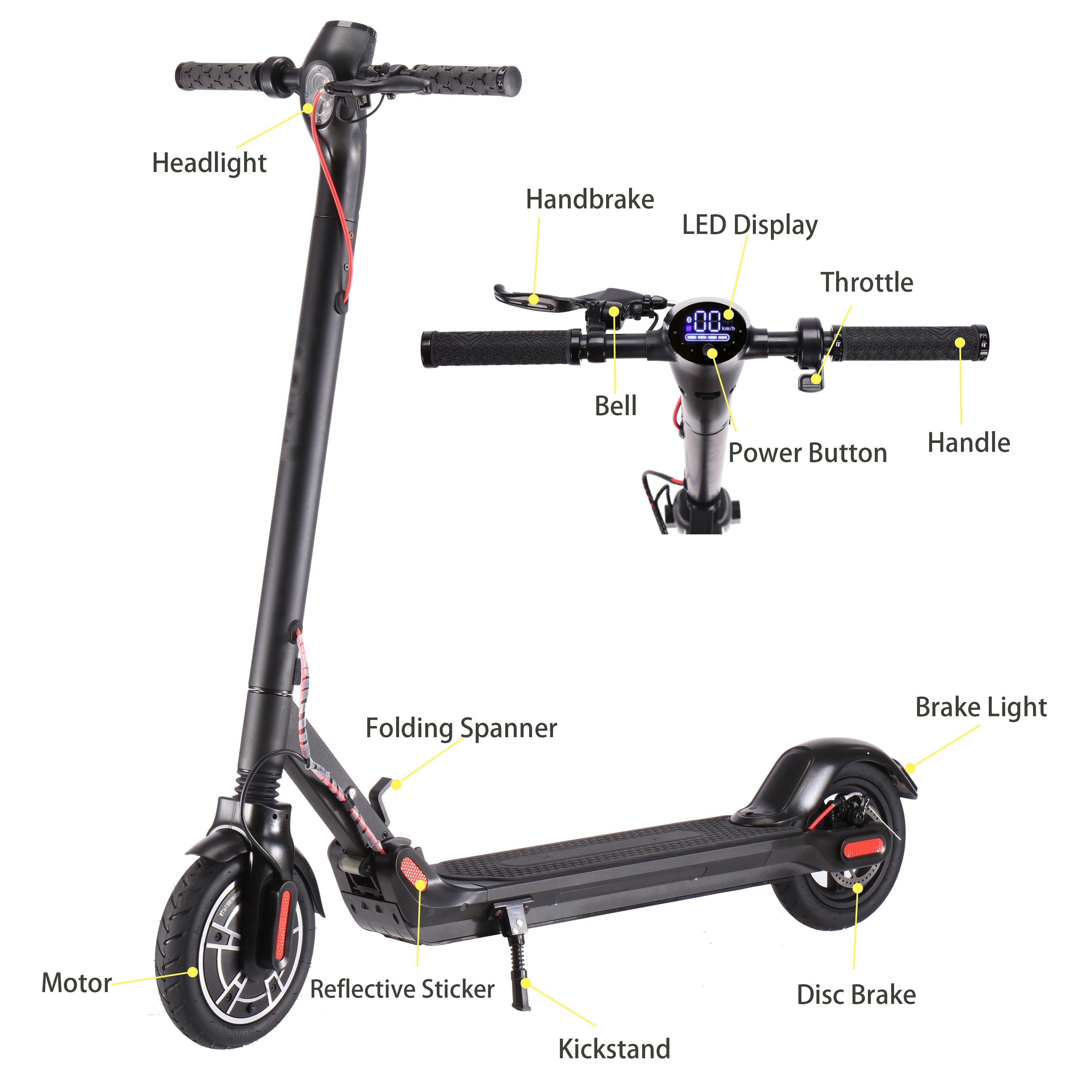 Wholesale Wheel Travel Scooter