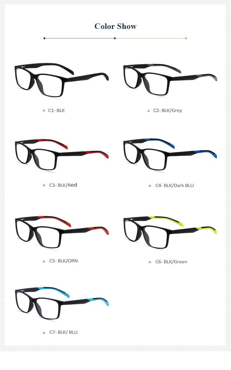 調節可能なメガネプラスチック Tr 眼鏡オプティカルフレーム ...