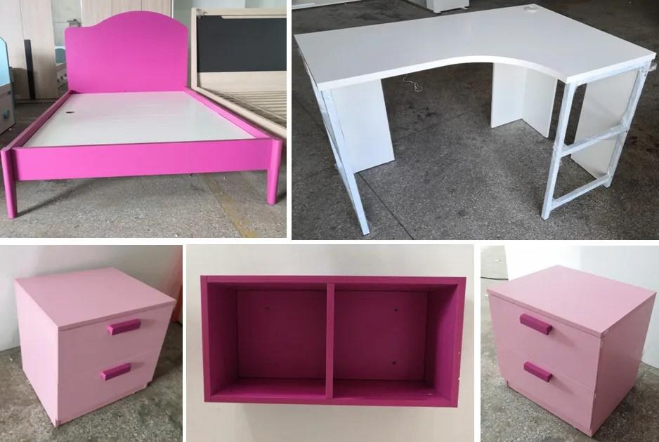 ensemble de chambre de fille pour enfants ensemble moderne de haute qualite euad115 nouveaute 2020 buy ensemble de chambre d enfants meubles de
