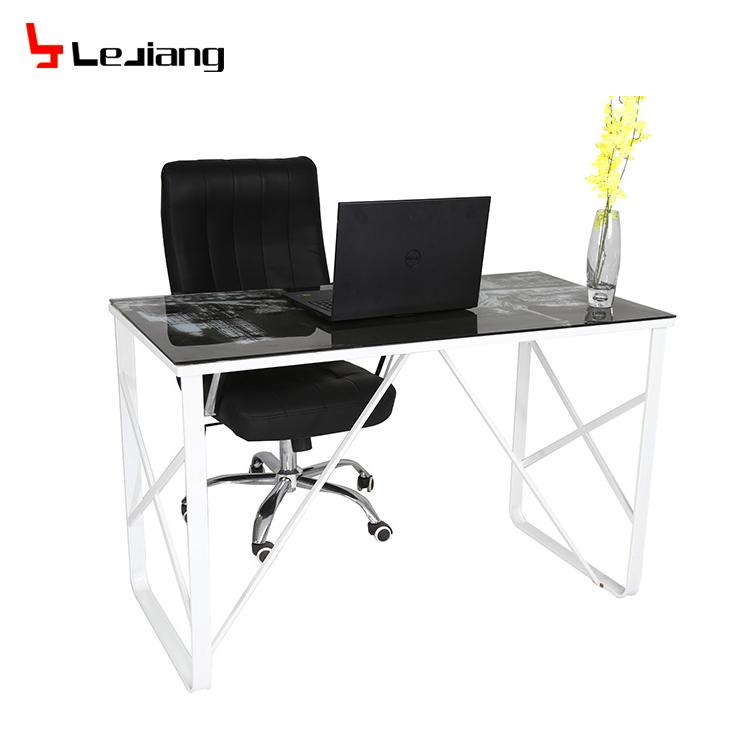 congi table verre de luxe pour ordinateur portable fabricant chinois plateau en metal pieds en metal buy computer desk luxury console table aldi