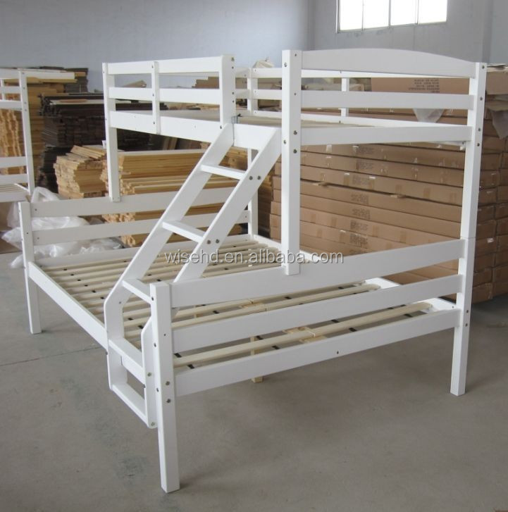 Wjz B71 Solid Pine Wood Queen Size Bunk Beds Buy