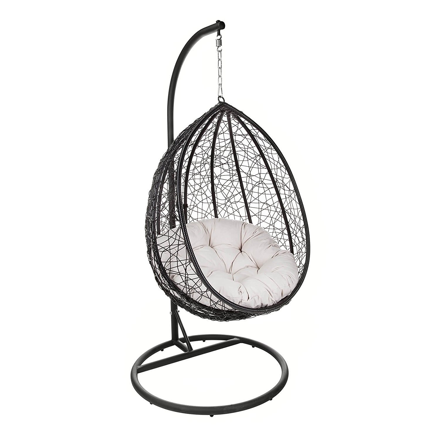 Outdoor Patio Hanging Chair Indoor Egg Swing Chair With Stand Buy Leisure And Patio Rattan Porch Furniture Chair Modern Garden And Indoor
