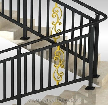 Square Pipe Steel Handrail Wrought Iron Railing For Staircase | Industrial Pipe Stair Railing | Threaded Pipe | Rail | Banister | Galvanized Pipe | Wall