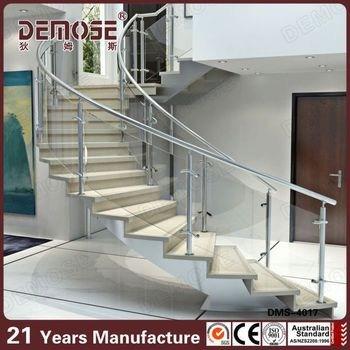 Height Quality Curved Stairs Glass Railings Design Buy Staircase | Curved Glass Staircase Railing | Half Circle | Aluminium | Tuffen | Interior Modern Glass | Stone Glass