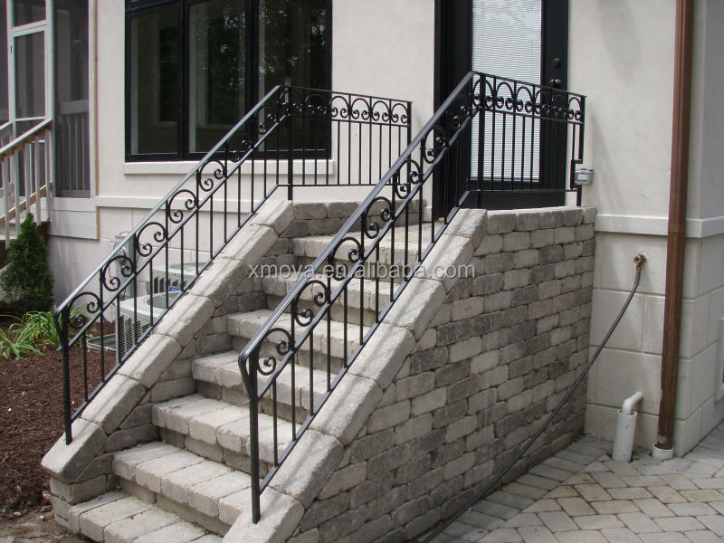 Image Result For Outdoor Wrought Iron Stair Railing