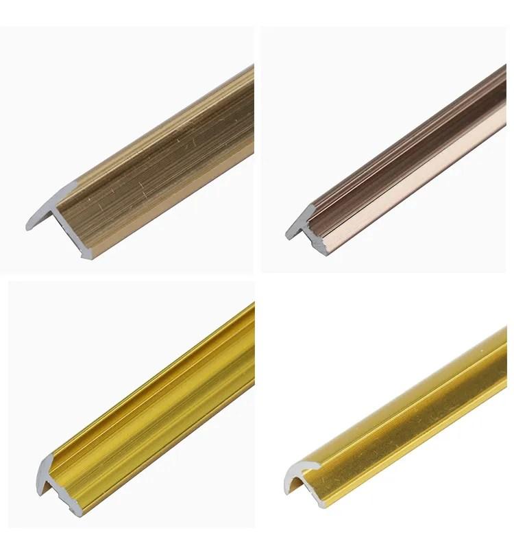 brushed aluminium t shaped tile edging trim threshold trim t bar door strip view aluminium flooring transition yutian product details from foshan