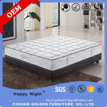 Foshan Comfort Sleep High Quality 4 Star Hotel Bedroom Box Spring Mattress 8320