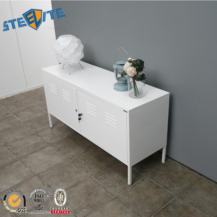 support tv blanc 2 portes en fer meuble avec vitrine offre speciale buy meuble tv blanc meuble tv en fer meuble tv avec vitrine product on