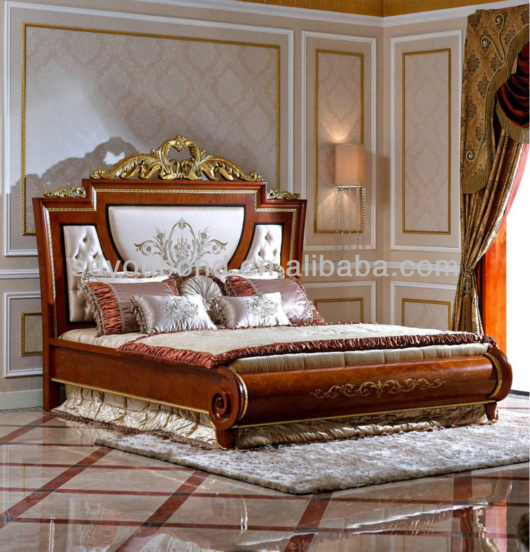 0038 european solid wood luxury classical bedroom set furniture king size bed buy classical king size bed soli wood classical king size bed luxury