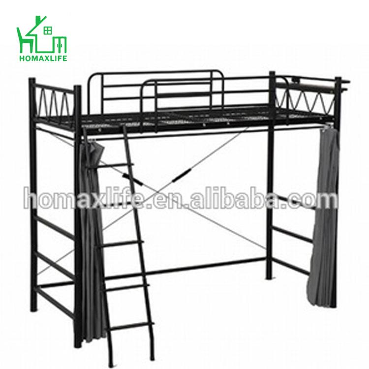 mobilier de loft en metal multifonctionnel design moderne lit simple pour adulte avec echelle offre speciale buy lit mezzanine avec echelles lits
