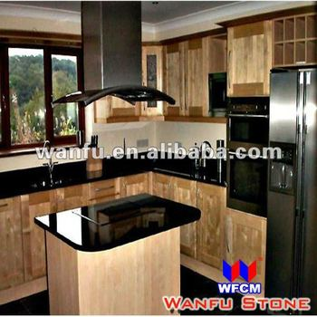 New Style Black Granite Indian Kitchen Interior Design   Buy Indian     New style black granite indian kitchen interior design