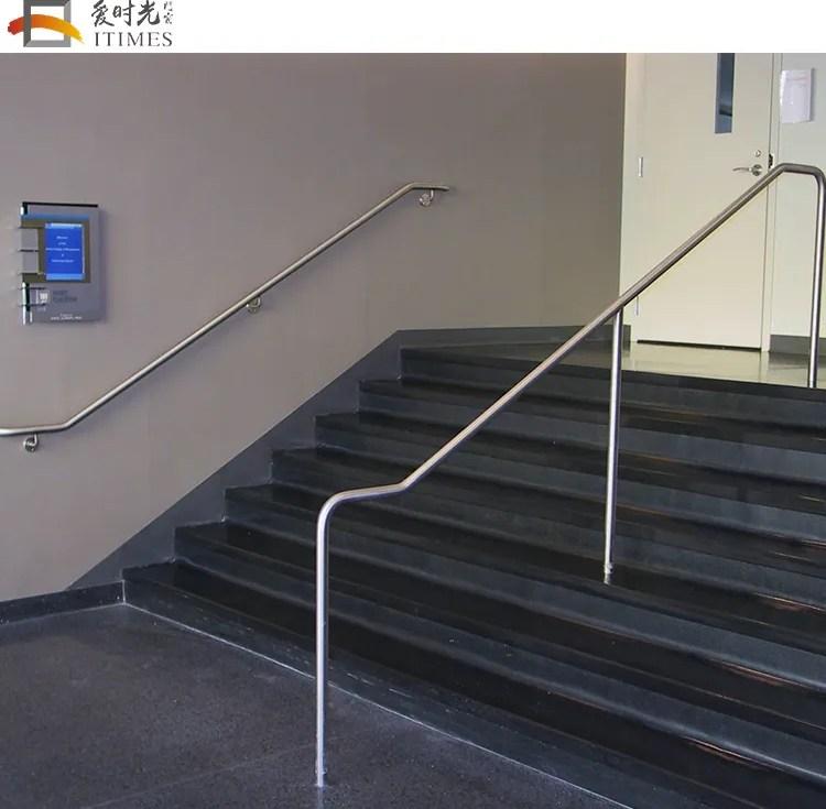 Custom Stainless Steel Swimming Pool Handrail Exterior Handrail | Exterior Stainless Steel Handrail | Flat Bar | Balustrade | Steel Railing | Mild Steel | Staircase