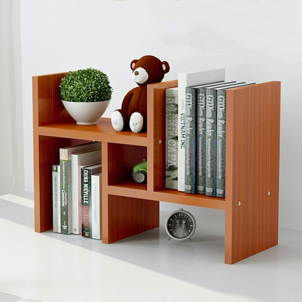 Desktop Bookshelf Magazine Shelf Student Desktop Small White