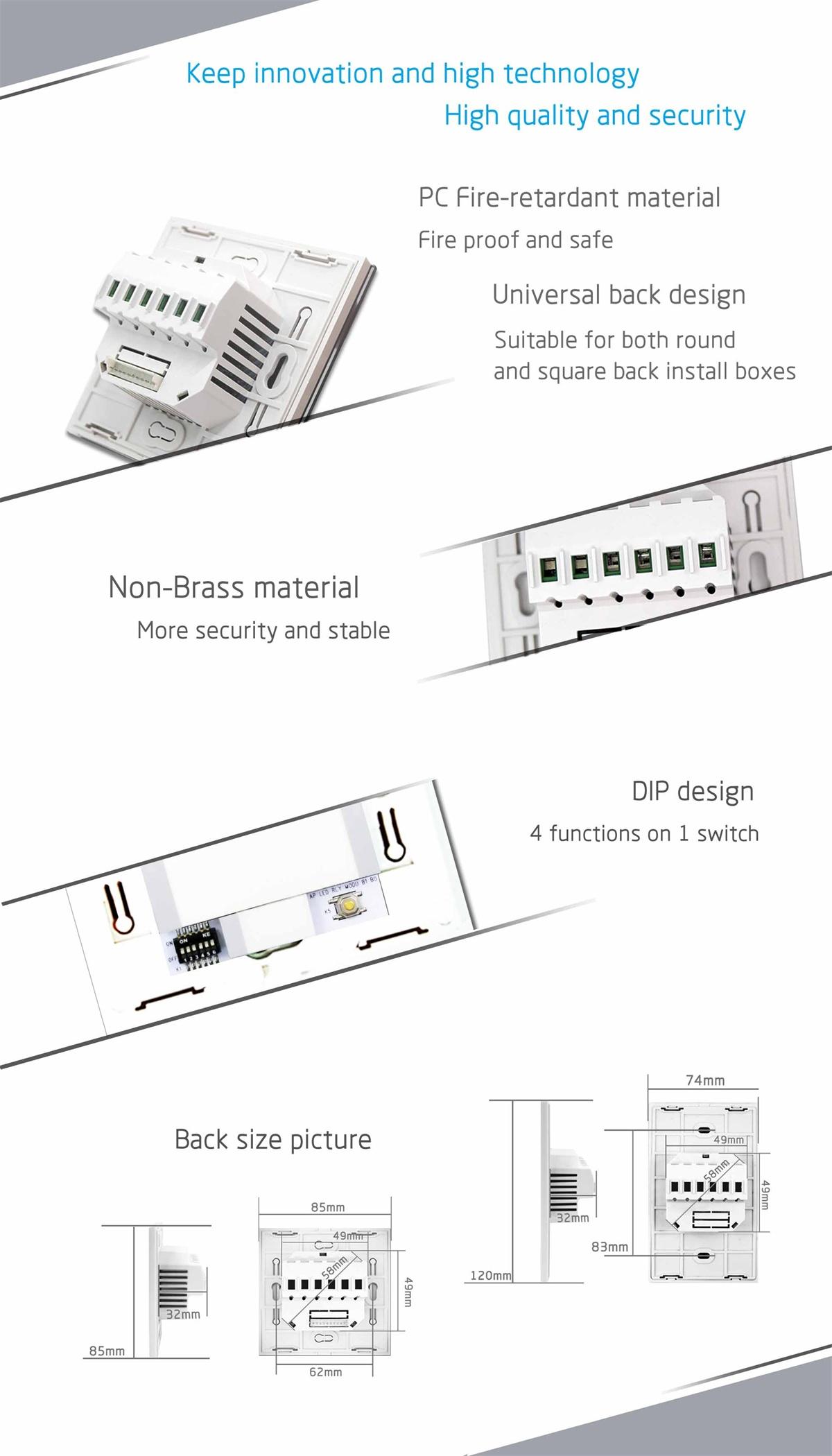 20a Israel Standard Water Heater Wifi Smart Switch Boiler