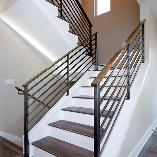Diy Metal Baking Black Stair Railing Casting Railing Balcony | Diy Metal Stair Railing | Outdoor | Exterior | Beginner | Indoor | Metal Baluster Drywall