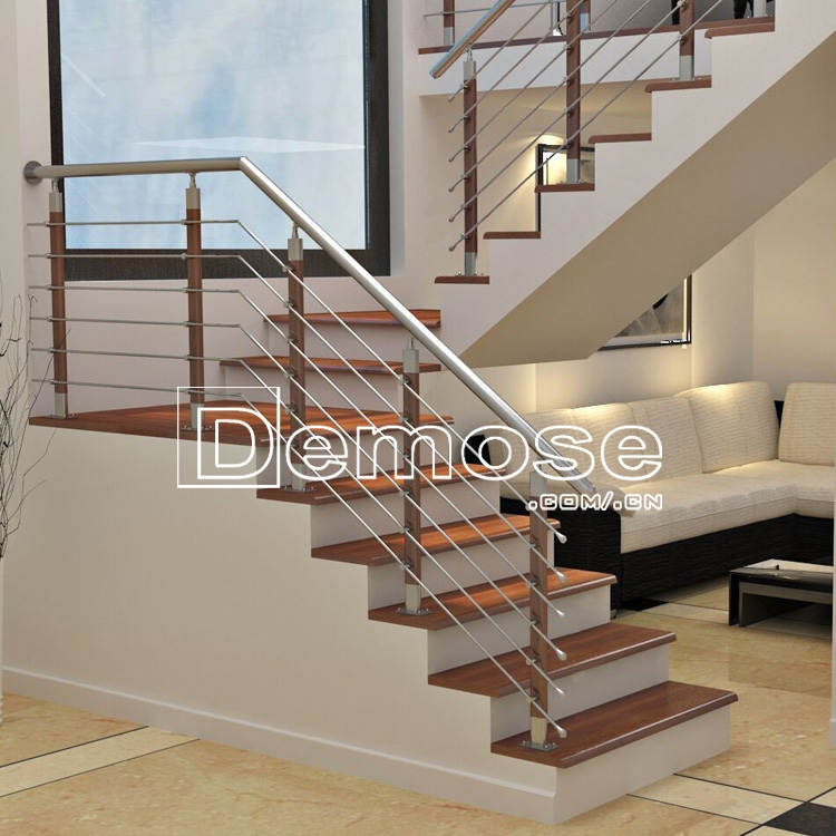 Duplex House Stainless Steel Stair Railing With Low Price View | Duplex Staircase Railing Designs | Indoor | Wooden | Grill | Two Story House Stair | Floor To Ceiling
