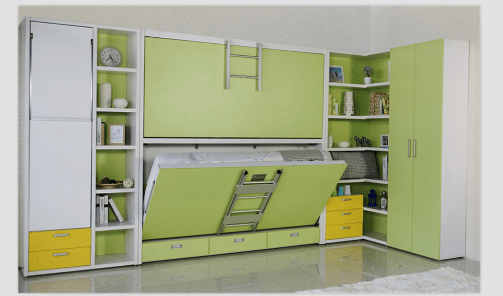 Double Decker Hidden Wall Bed Bunk Bed Buy Bunk BedBunk Wall BedWall Bed Product On