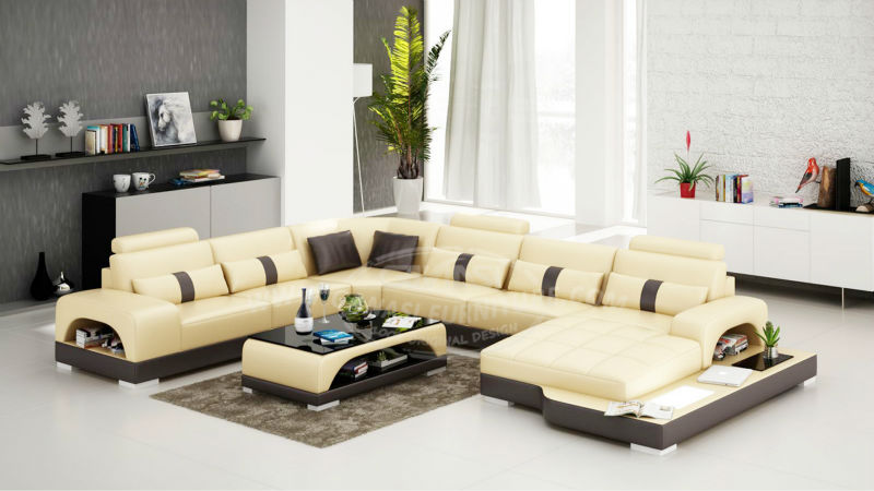 French Style Antique Furniture Sectional Large Round Sofa Black