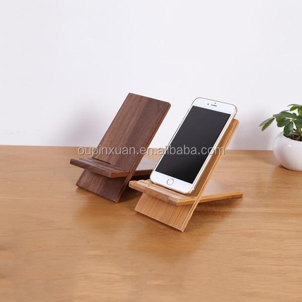 totalement naturel et de haute qualite accessoires pour la maison bureau telephone accessoire amovible en bambou support de telephone portable buy