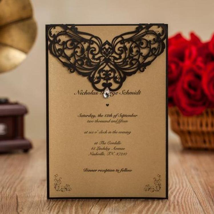 Laser Cut Wedding Invitations Philippines Supplieranufacturers At Alibaba