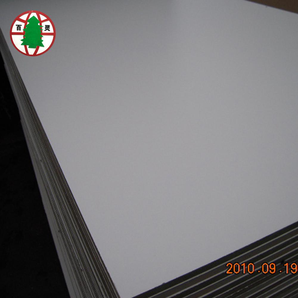 panneau mdf melamine blanc de 5mm