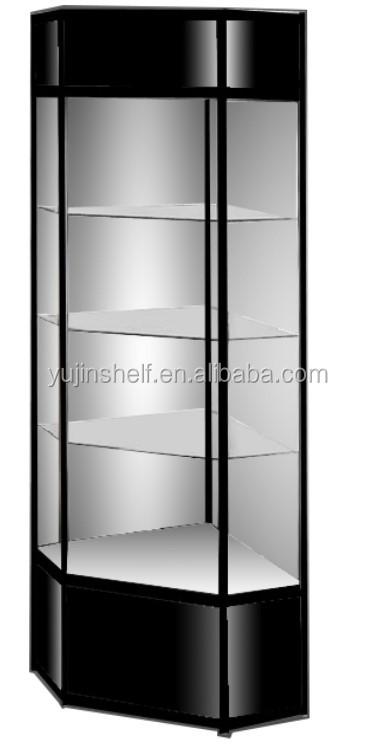 armoire d angle en verre livraison gratuite meuble a coin noir buy armoire d angle vitrine d angle en verre vitrine d angle product on alibaba com