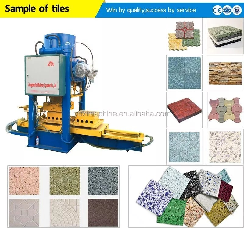 yuxi terrazzo tile maker machine automatic terrazzo floor tile making machine buy terrazzo floor tile making machine terrazzo tile maker