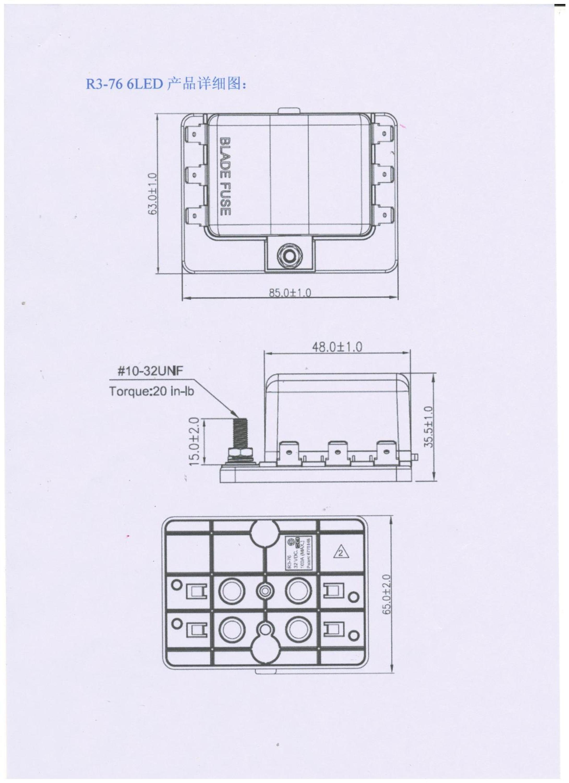 Dc 32v 10 Way Terminals Circuit Atc Ato Car Suv Auto Blade