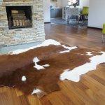 Buy Beautiful Giant Xl Cow Hide Cowhide Rug Brown White