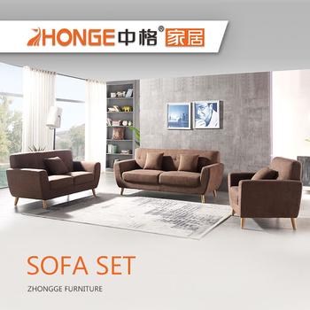 Modern Home Sitting Room Elegant Teak Wood Sofa Set Designs