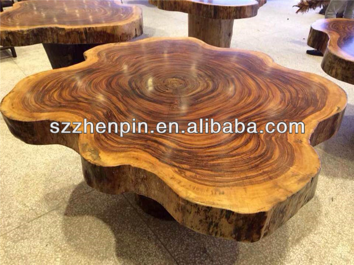 Tiger Wood Dining Table