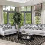 Buy Esofastore Mid Century Modern Style 2pc Sofa Set Sofa Loveseat Silver Sofa Loveseat Pillows Cushion Couch Living Room Furniture In Cheap Price On Alibaba Com
