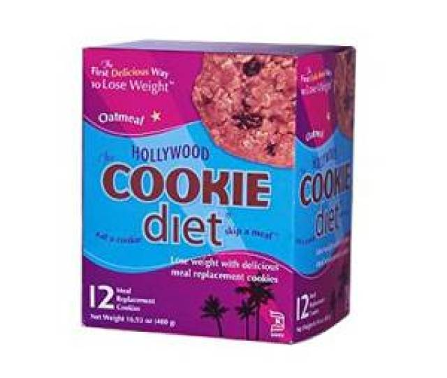 Get Quotations  C B Hollywood Diet Miracle Products Cookie Diet Meal Replacement Oatmeal  Cookies By Hollywood Miracle