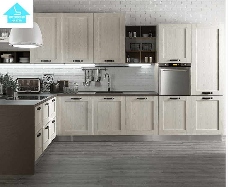 Kitchen Furniture Pvc Waterproof Modern Kitchen Cabinets