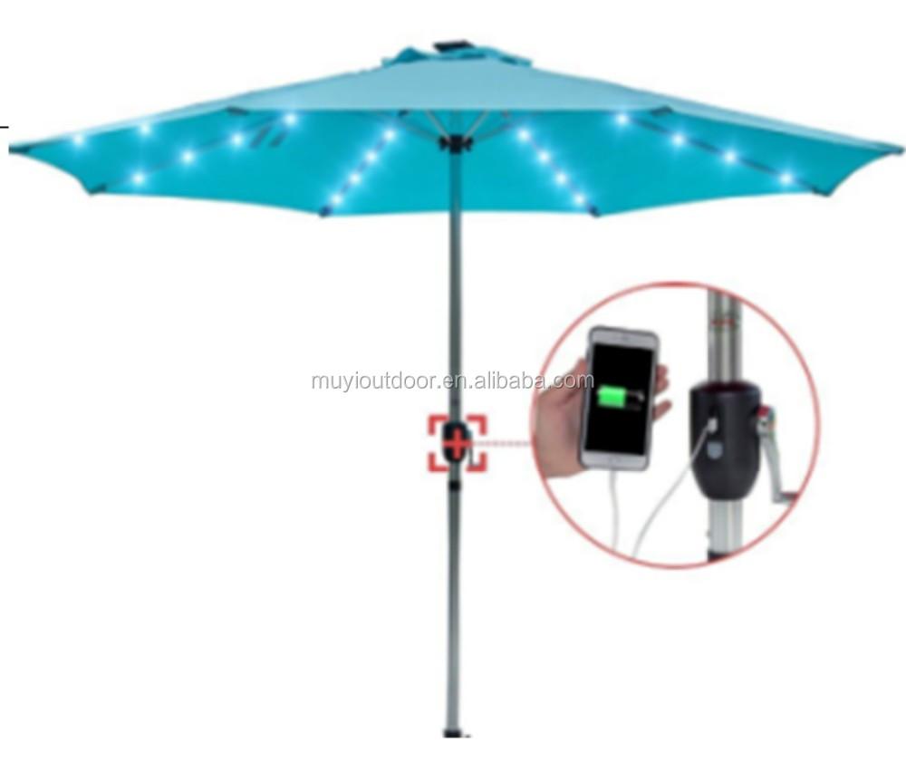 الهدف مهرجان معاناة patio umbrella with led lights