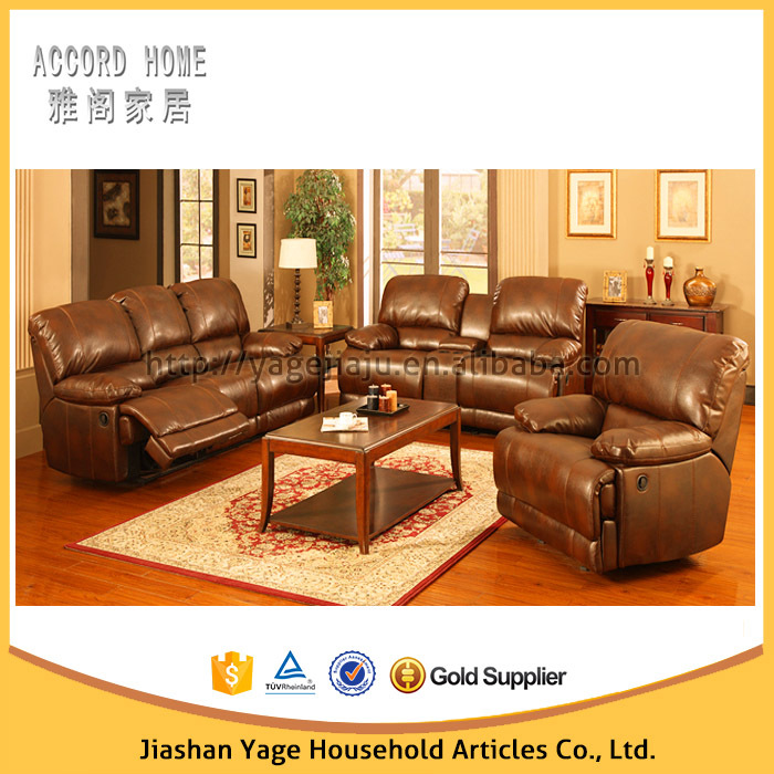 Full Grain Leather Reclining Sofa & full grain leather reclining sofa | Centerfieldbar.com islam-shia.org