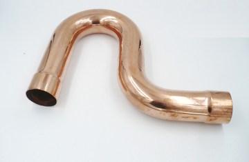 Plumbing Bent Copper Pipe | Licensed HVAC and Plumbing
