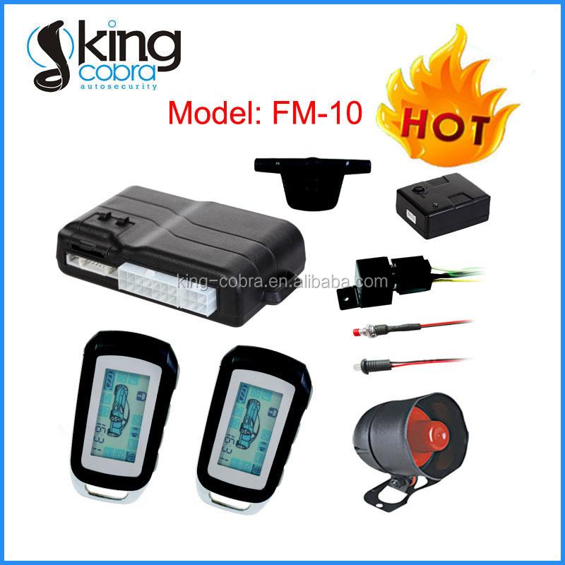 fm two way car alarm system suppliers
