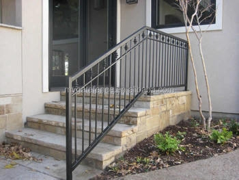 Wrought Iron Decorative Hot Selling Outdoor Metal Stair Railing   Metal Railing For Stairs Outside   Railing Ideas   Railing Kits   Front Porch   Spiral Staircase   Wrought Iron