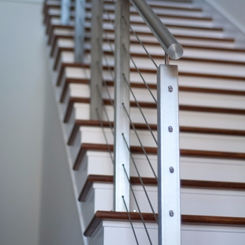 Cheap Price Stair Steel Railings For Outdoor Steps Design View | Outdoor Railings For Steps | Exterior | Outside | Residential | Staircase | Interior